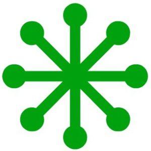 snowflake-groen